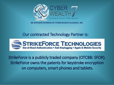 StrikeForce Technologies - keystroke encryption for computer, smart phones and tablets.