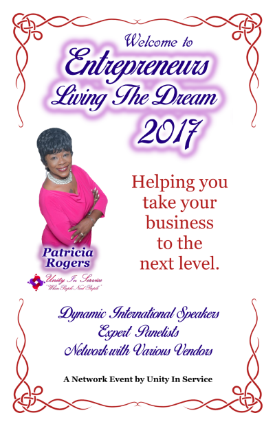 POSTER For Entrepreneurs Living The Dream 2017