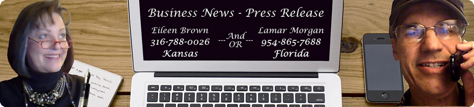 Business News Press Release - Eileen Brown - Lamar Morgan